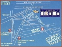 Map of 78 Neal Street, Covent Garden, London WC2