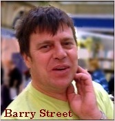 Barry Street, Manager of the Astrology Shop